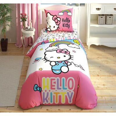Спално Бельо Hello Kitty Rainbow