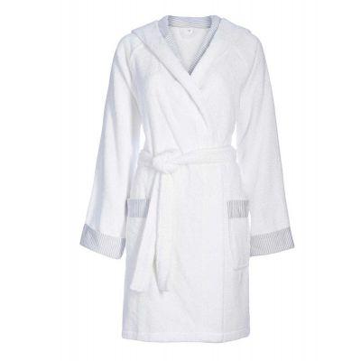 Хавлиен халат ESPRIT Day - бял