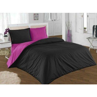 Спален комплект - Розово/черно