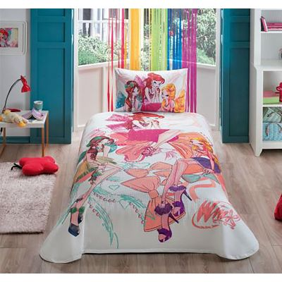Спално Бельо пике Winx fashion