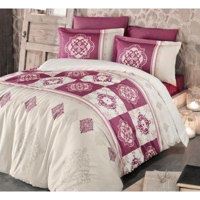 Спален комплект MIKA - Мандела червен