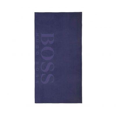 Плажна Кърпа Boss Carved Cobalt