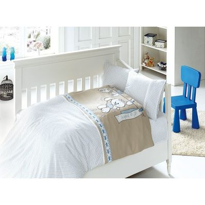 Бебешки спален комплект от бамбук - Бейби блу