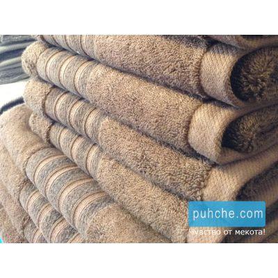 Бамбукови хавлиени кърпи Mystery, карамел