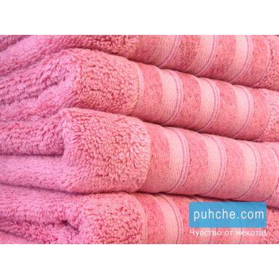Бамбукови хавлиени кърпи Mystery, розов