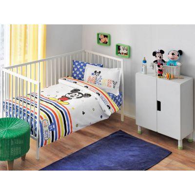 Бебешки спален комплект TAC - Дисни Мики скеч бейби