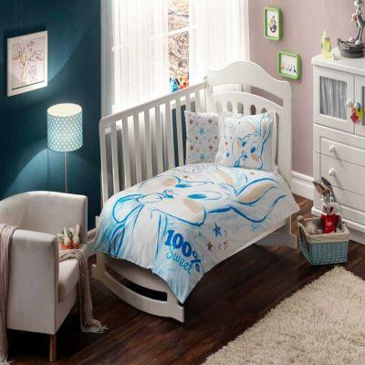 Бебешки спален комплект TAC - Бъгс Бъни Суит Бейби