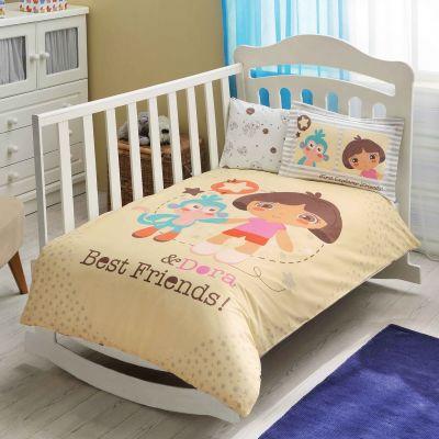 Бебешки спален комплект TAC - Дора Бест Френдс Бейби