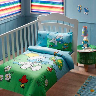 Бебешки спален комплект TAC - Сирилнър блу бейби