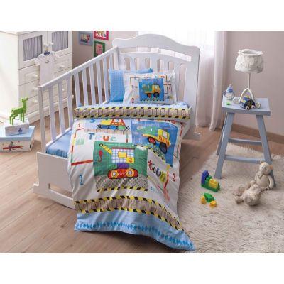 Бебешки спален комплект TAC - Бейби Тойс жълт