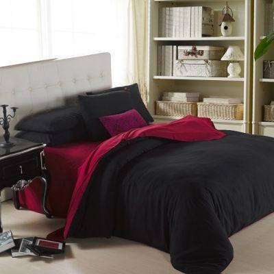 Спален комплект - Бордо/черно