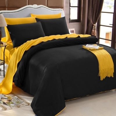 Спален комплект - Черно/злато