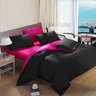Спален комплект - Черно/циклама