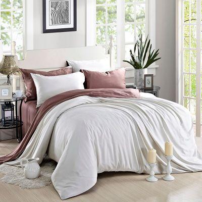Спален комплект - Бяло/боровинка