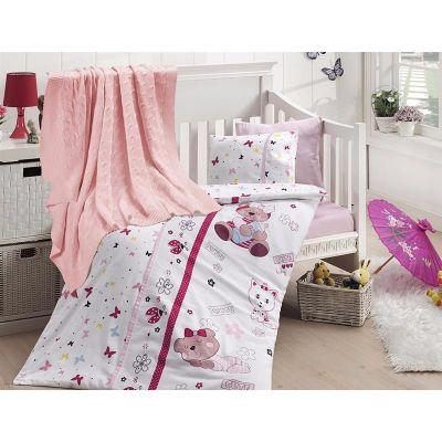 Бебешки спален комплект от бамбук,Cute baby, с одеало