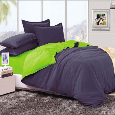 Спален комплект - Тъмносиньо/зелено