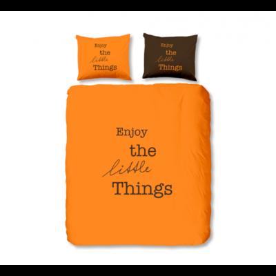 "Спално бельо ""Енджой"" оранжев"