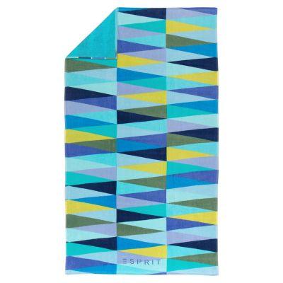 Плажна кърпа Esprit Pyramid Blue