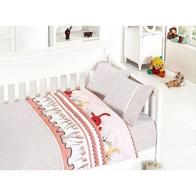 Бебешки спален комплект от бамбук - Джини пудра