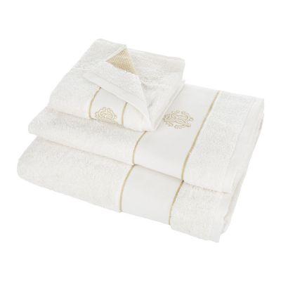 Кърпи Roberto Cavalli бяло злато - ивори