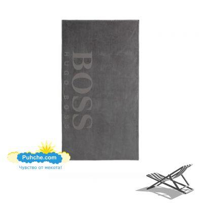 Плажна кърпа BOSS - Silver