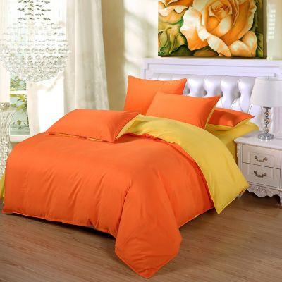 Спален комплект - Оранжево/жълто