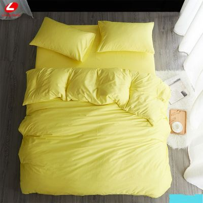 Спален комплект - Светложълто