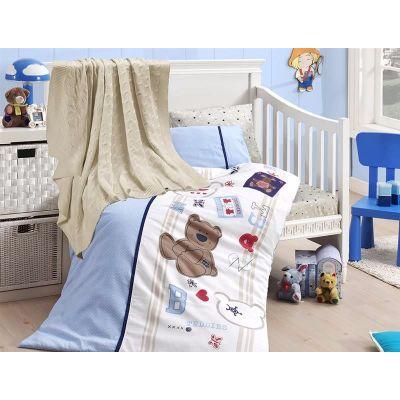Бебешки спален комплект от бамбук, Joy, с одеало
