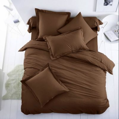 Спален комплект - Тъмно кафяво