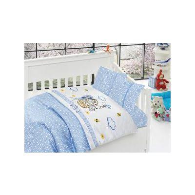 Бебешки спален комплект от бамбук,Kitty blue