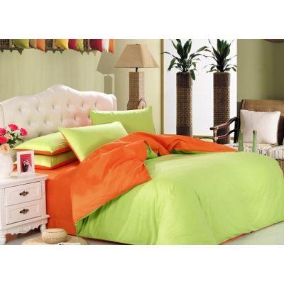 Спален комплект - Лайм/оранжево