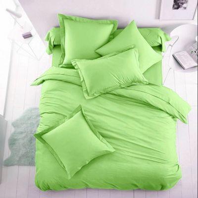 Спален комплект - Зелено/екрю