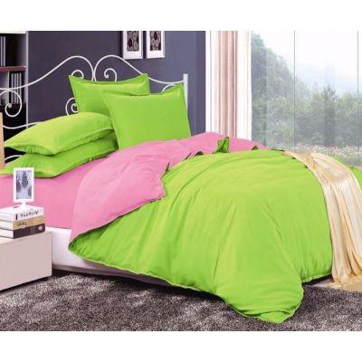Спален комплект - Лайм/бейби розово