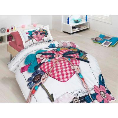 Детски 3D спален комплект - Любов