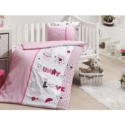 Бебешки спален комплект от бамбук,Love Bunny