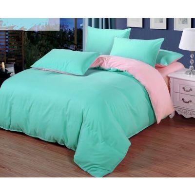 Спален комплект - Мента/светлорозово
