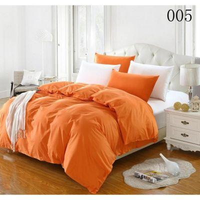 Спален комплект - Оранжево/бяло