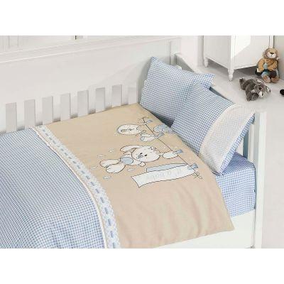 Бебешки спален комплект- Палавници син