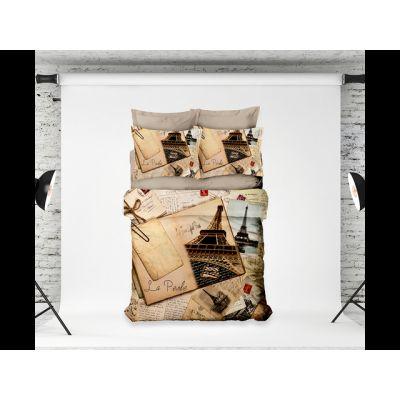"""Спално бельо """"Paris""""- Digital design"""