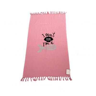 Плажна Кърпа Summer Soft Pink