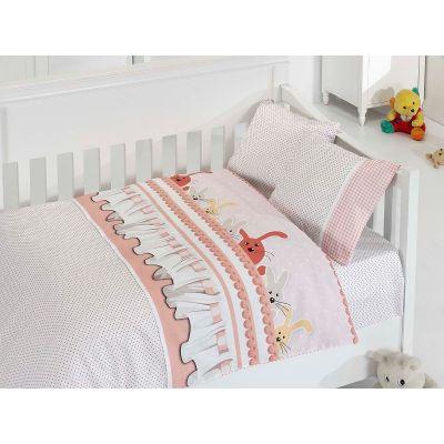 Бебешки спален комплект- Зайчета Somon