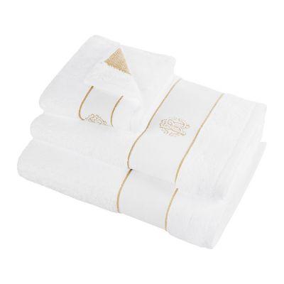 Кърпи Roberto Cavalli бяло злато - бяла