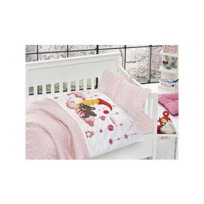 Бебешки спален комплект от бамбук, Sancho pink