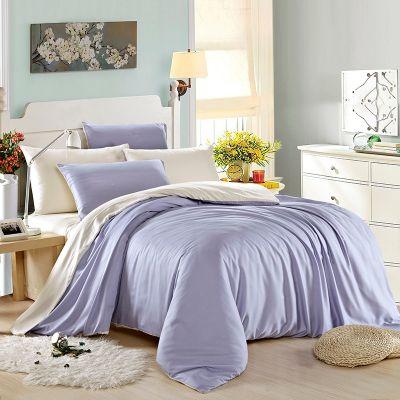 Спален комплект - Бяло/светло лилаво