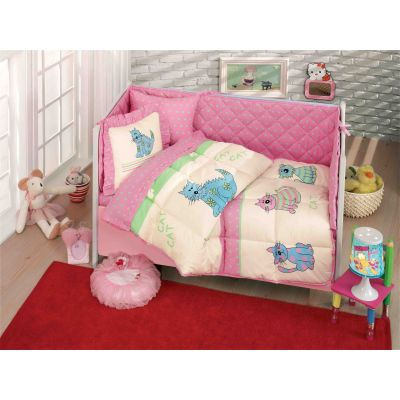 Бебешки спален комплект, Коте