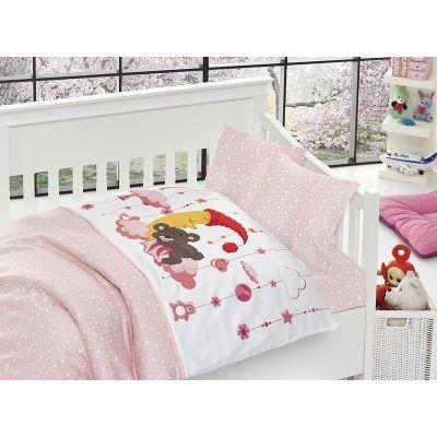 Бебешки спален комплект от бамбук - Слийпър пинк