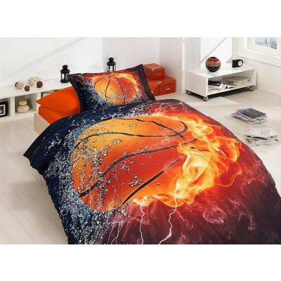 Детски 3D спален комплект - Баскетбол