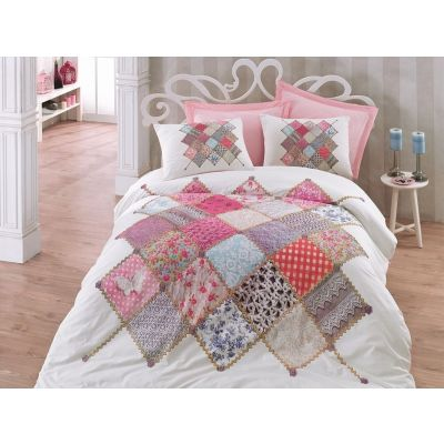 Спален комплект COTTON BOX - Натали розов