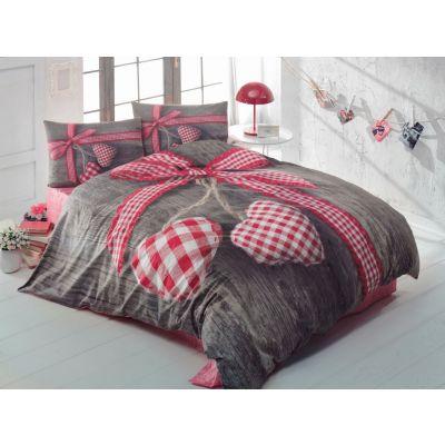 Спален комплект COTTON BOX - Лавбокс червен