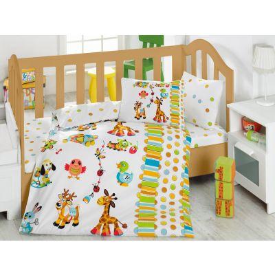 Бебешки спален комплект COTTON BOX - Оун Бахчеси